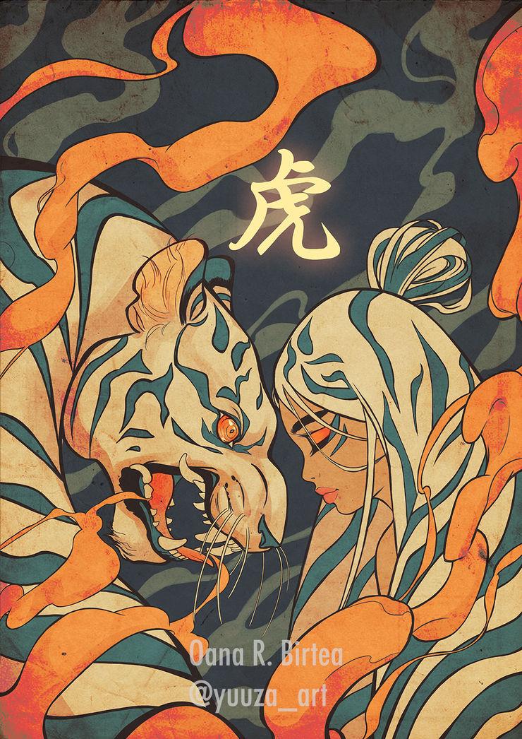Vorlage: Illustration von Oana ab-design GmbH Asiatische Kinderzimmer