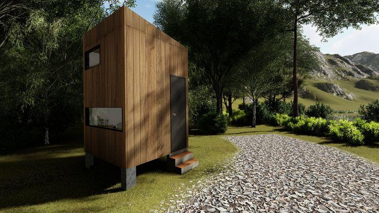 Home Office / Oficina modular / Cuarto de entretención / Oficina prefabricada Estudio Arquitectura y construccion PR/ Remodelaciones y Diseño de interiores / Santiago, Rancagua y Viña del mar