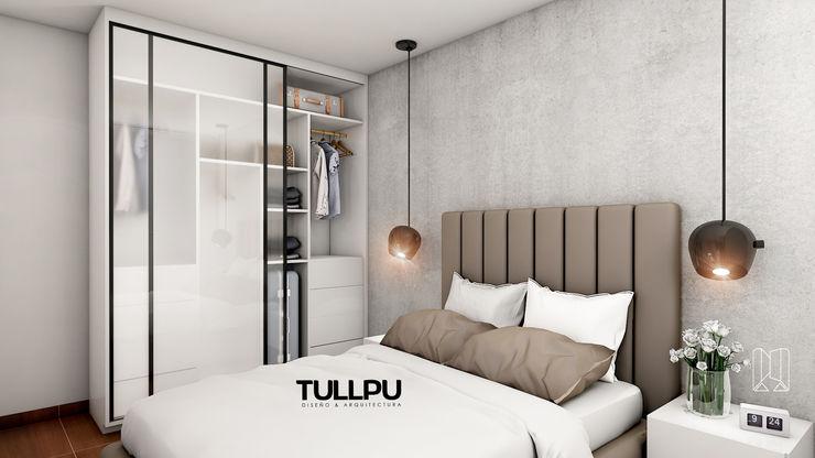 Closet Tullpu Diseño & Arquitectura Dormitorios de estilo moderno Marrón