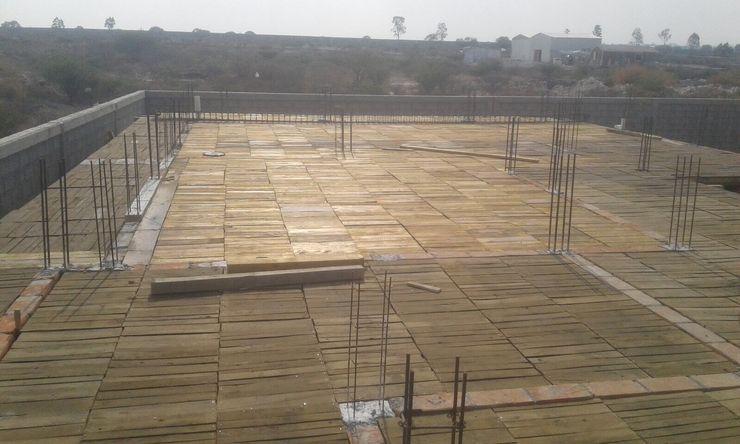 Cimbra para recibir losa Lynder Constructora e Inmobiliaria Casas unifamiliares