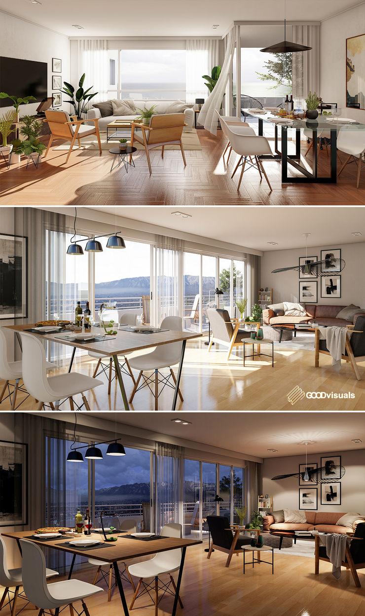 GOOD visuals Modern living room