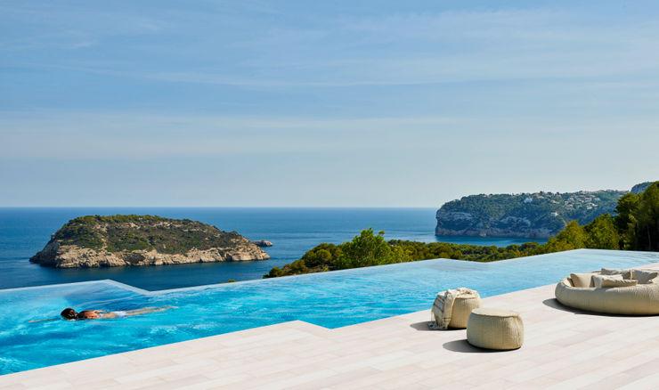 Ideal para todo tipo de piscinas ROSA GRES