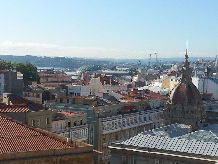 Vistas desde salón, estudio y dormitorios Ana Cabo