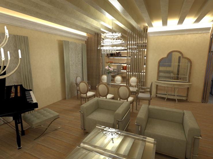 3D Salón, comedor, despacho Ana Cabo