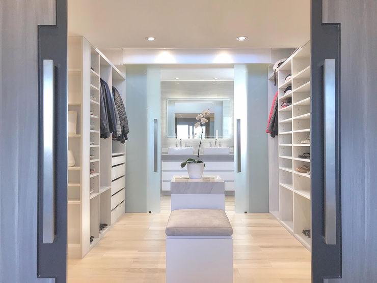 Vestidor Master bedroom Estudio Nicolas Pierry Vestidores y placares modernos