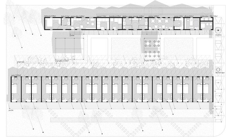 Planimetría del complejo Ana Cabo Blanco