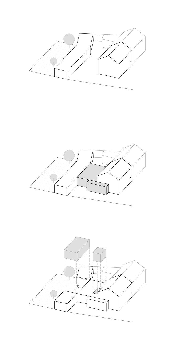 Entwurfskonzept ZHAC / Zweering Helmus Architektur+Consulting