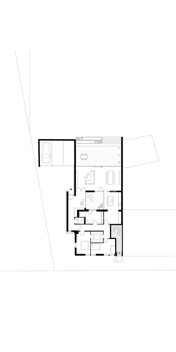 Grundriss ZHAC / Zweering Helmus Architektur+Consulting