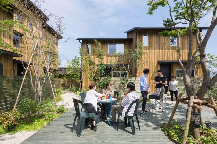 中庭を囲んで 環アソシエイツ・高岸設計室 長屋