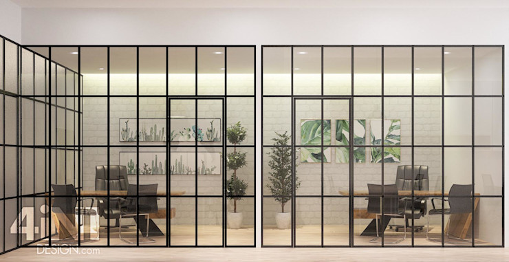 Impian Emas Office four in one design sdn bhd Modern style study/office