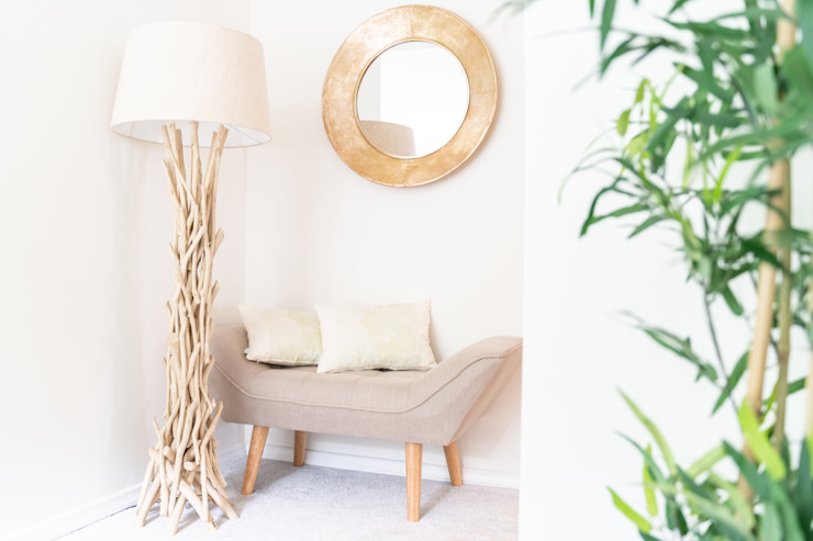 Vorraum gut genutzt Feelgood Design Asiatische Schlafzimmer