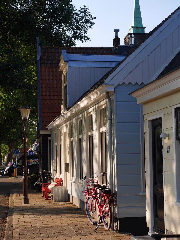 YBB Architecture Amsterdam Pasif ev Ahşap Mavi