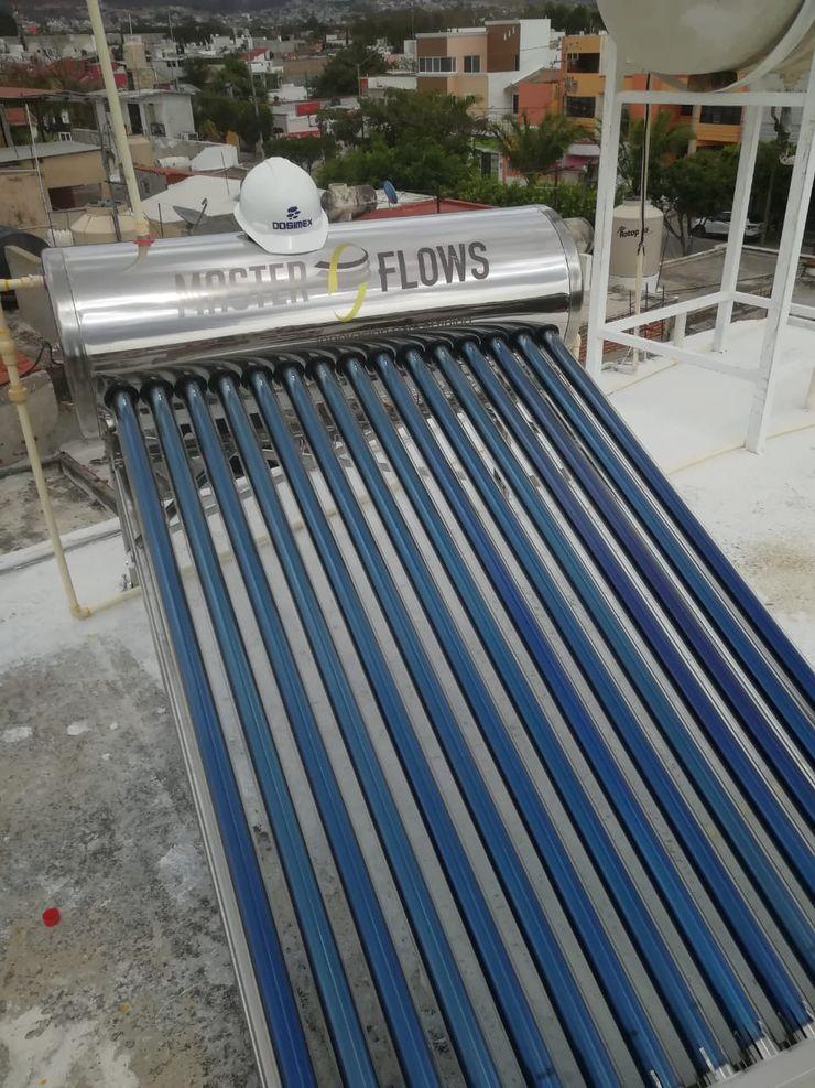 Instalación de Calentador Solar de agua, la Herradura,Chiapas DOSIMEX, servicios de Ingeniería HogarArtículos del hogar Aluminio/Cinc Metálico/Plateado