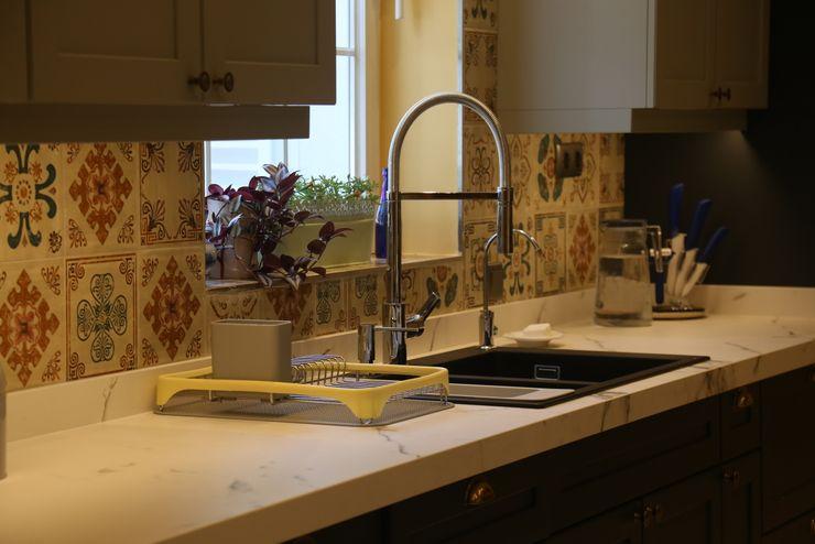 Villa Mutfak İndeko İç Mimari ve Tasarım Modern Mutfak