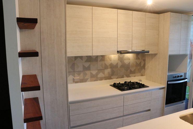 Ampliación de cocina y mobiliario Dimensiona Hogar Cocinas pequeñas
