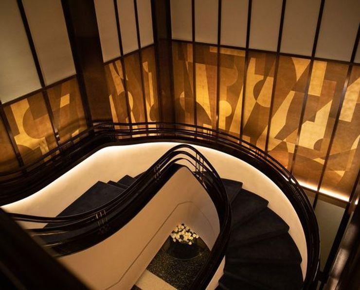 Handlauf, TAK Room, Hudson Yards, New York Siller Treppen/Stairs/Scale Treppe
