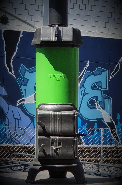 Perler Ofen GmbH Jardines de estilo ecléctico Metal Verde