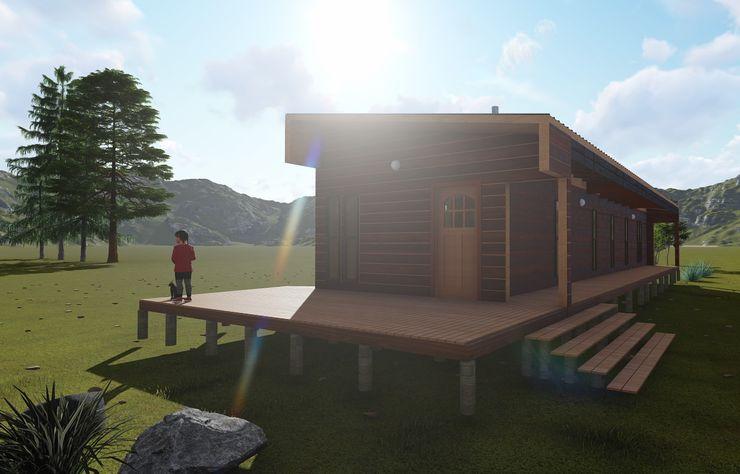 Nave + Arquitectura & Modelación Paramétrica Minimalist houses