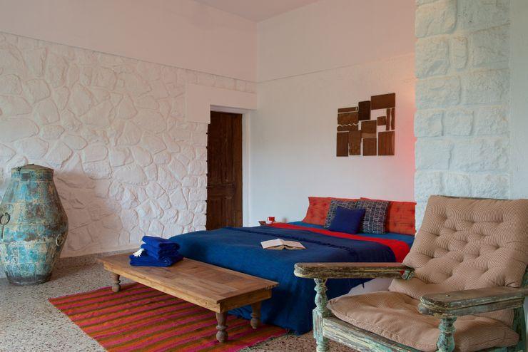 Ashleys Mediterrane Häuser Stein Weiß