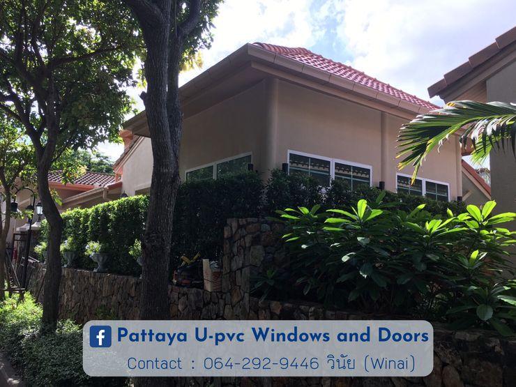 โรงงาน พัทยา กระจก ยูพีวีซี Pattaya UPVC Windows & Doors Металопластикові вікна Пластик Білий