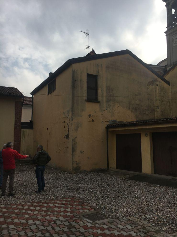 Stato di fatto delle facciate ammalorate C.M.E. srl Case moderne