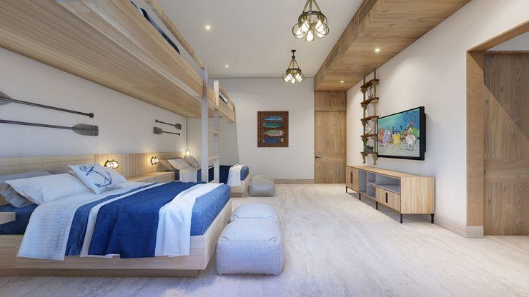 Merarki Arquitectos Modern style bedroom