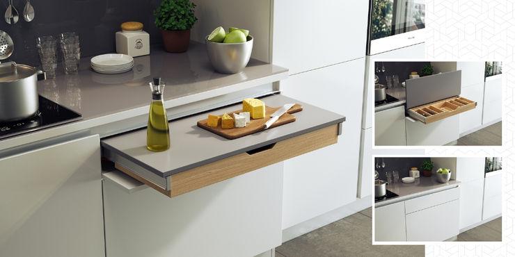 FUNCTIONAL Atim Spa CucinaPiani di lavoro Alluminio / Zinco