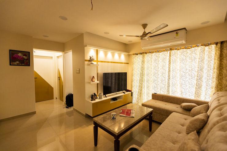 The Golden Touch The 7th Corner Interior Ruang Keluarga Modern