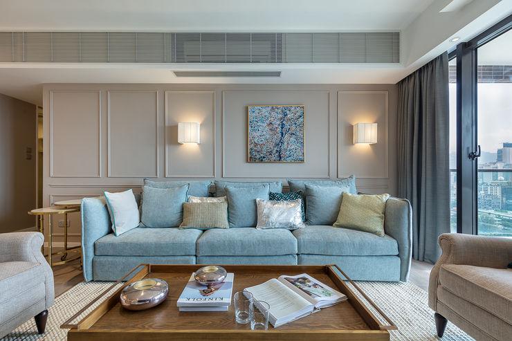 Sense of Romance—Wylie Court, Hong Kong Grande Interior Design Classic style living room