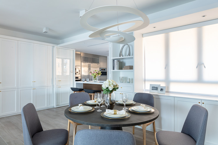 Sense of Romance—Wylie Court, Hong Kong Grande Interior Design Classic style dining room