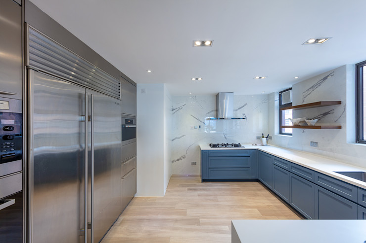 Sense of Romance—Wylie Court, Hong Kong Grande Interior Design Classic style kitchen