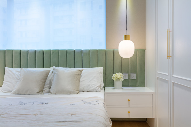 Sense of Romance—Wylie Court, Hong Kong Grande Interior Design Classic style bedroom