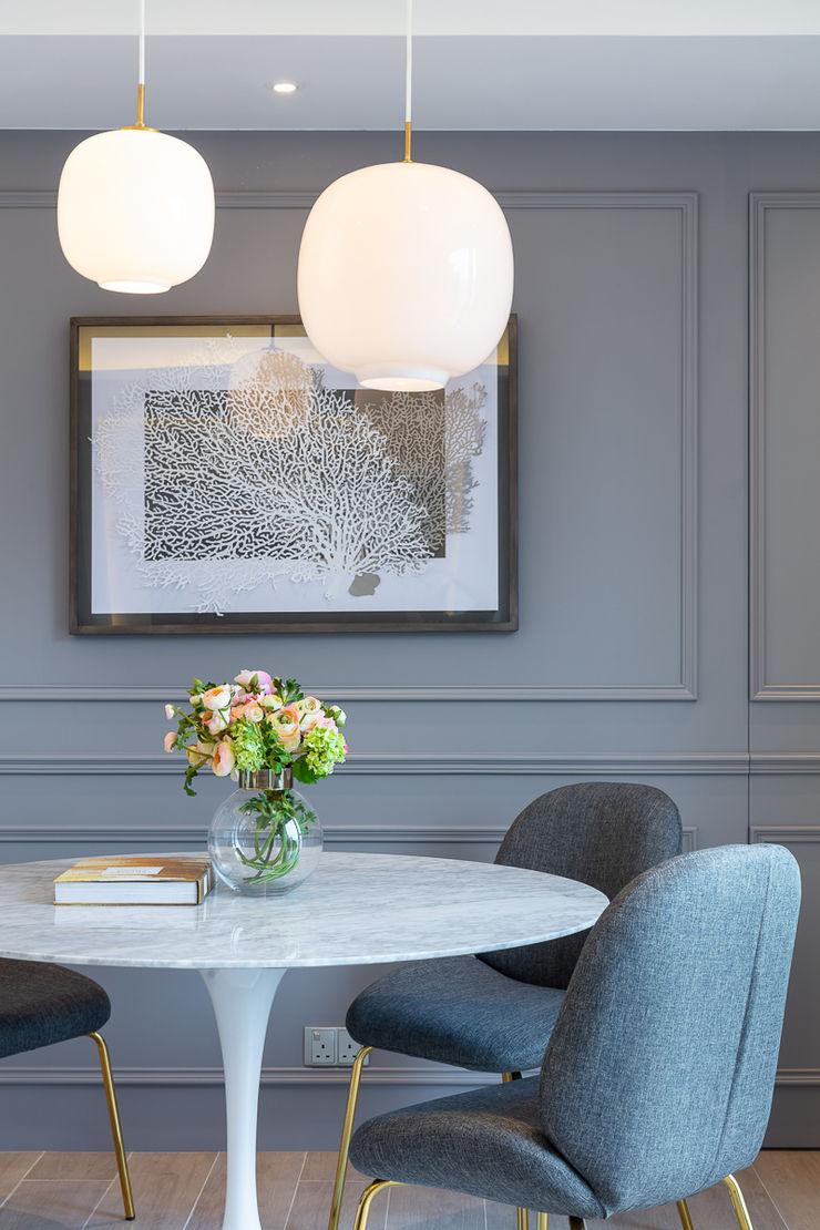 Celeste and the Sea—Alto Residences, Hong Kong Grande Interior Design Classic style dining room