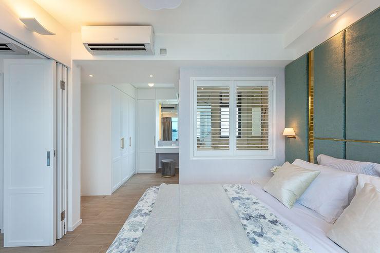 Celeste and the Sea—Alto Residences, Hong Kong Grande Interior Design Classic style bedroom