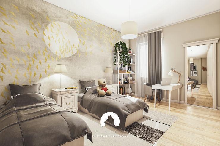 Spazio - Ristrutturazioni Modern style bedroom Beige