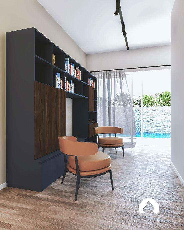 Spazio - Ristrutturazioni Modern corridor, hallway & stairs Beige