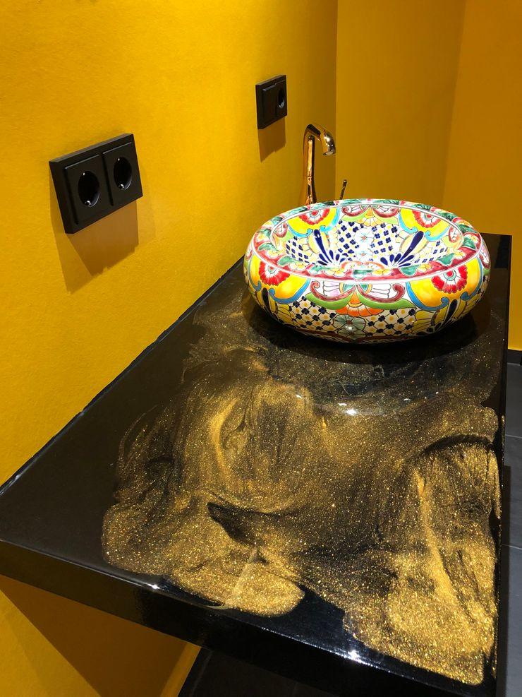 Waschbeckentisch LifeStyle Bäderstudio Moderne Badezimmer