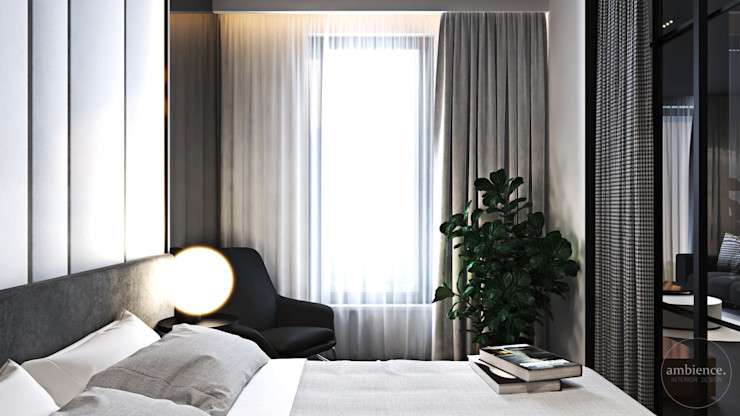 Ambience. Interior Design Chambre moderne