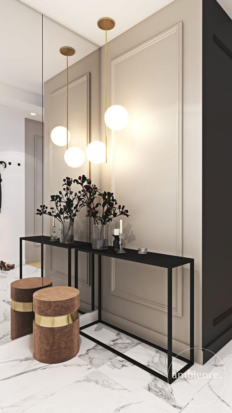 Ambience. Interior Design Couloir, entrée, escaliers classiques