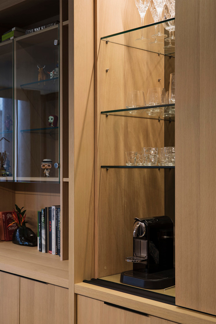 Home Bar interior design workroom. Dining roomAccessories & decoration