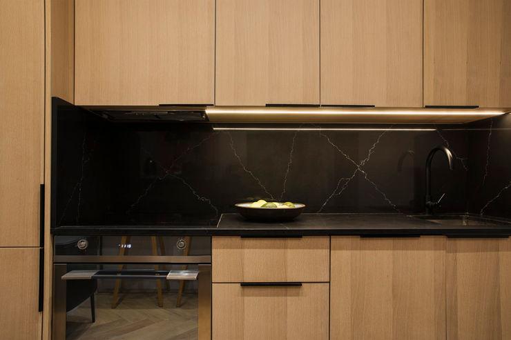 Kitchenette interior design workroom. Small kitchens