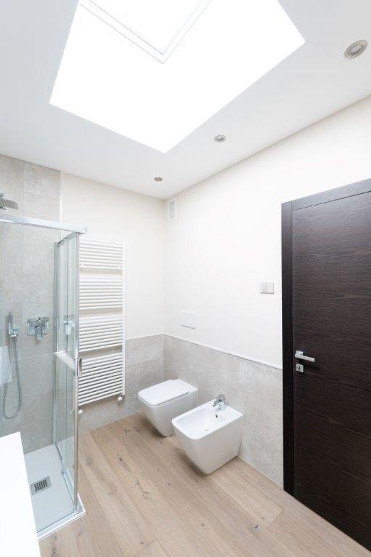 DA VINCI Luxury residence 2P COSTRUZIONI srl Bagno moderno
