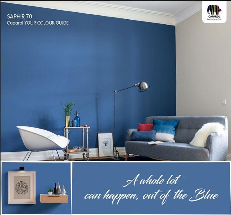 Caparol Arabia Dormitorios pequeños Azul