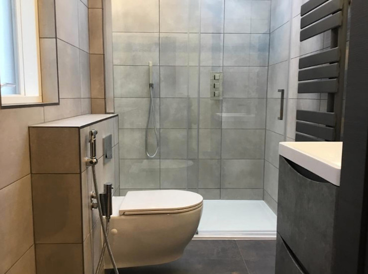 Contemporary 4 Bedroom Detached House, Burcot, Abingdon Abodde Luxury Homes Modern bathroom