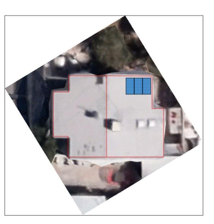 Propuesta de ubicación ESPECIALISTAS EN ENERGÍA SOLAR SOLAR MX INSTALACIÓN DE PANELES SOLARES Techos planos
