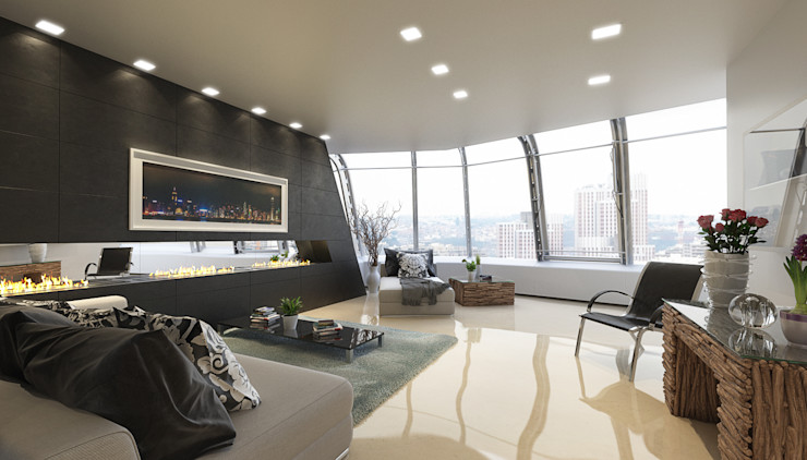 Arquitectura Progresiva Salas modernas