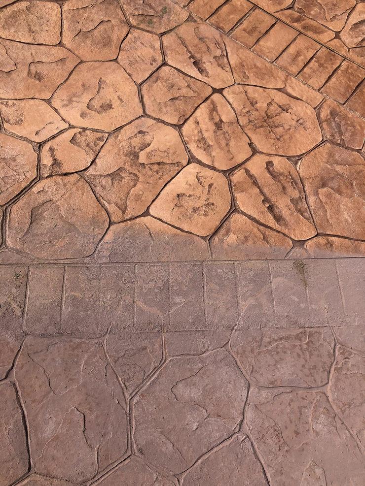Pavimento in calcestruzzo stampato ROMAZZINO C.S. SERVICE SRL