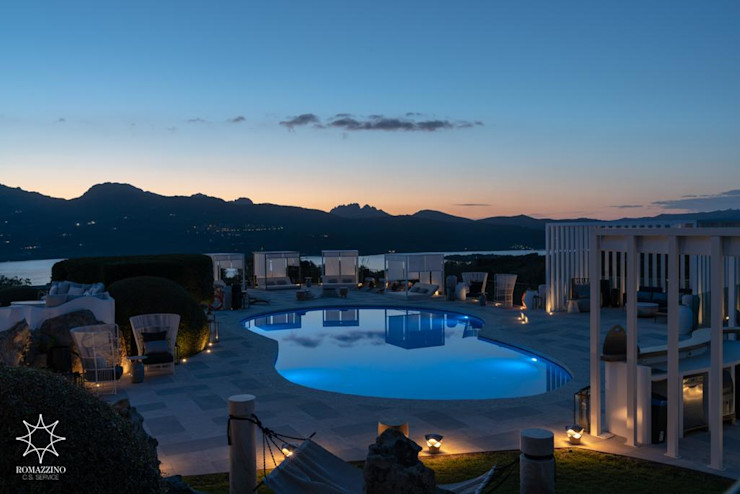 THE LOCAL HOTEL IN PORTO ROTONDO – BAR, RISTORANTE, SALA, RECEPTION E INGRESSO ROMAZZINO C.S. SERVICE SRL Hotel moderni
