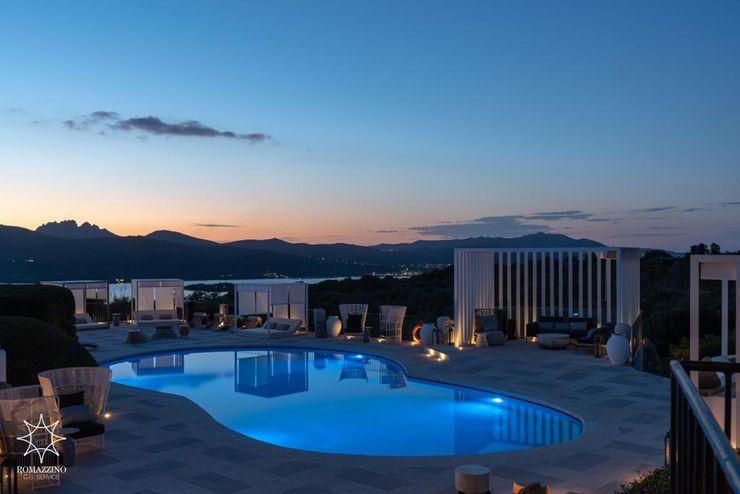 Swimmig pool ROMAZZINO C.S. SERVICE SRL Hotel moderni