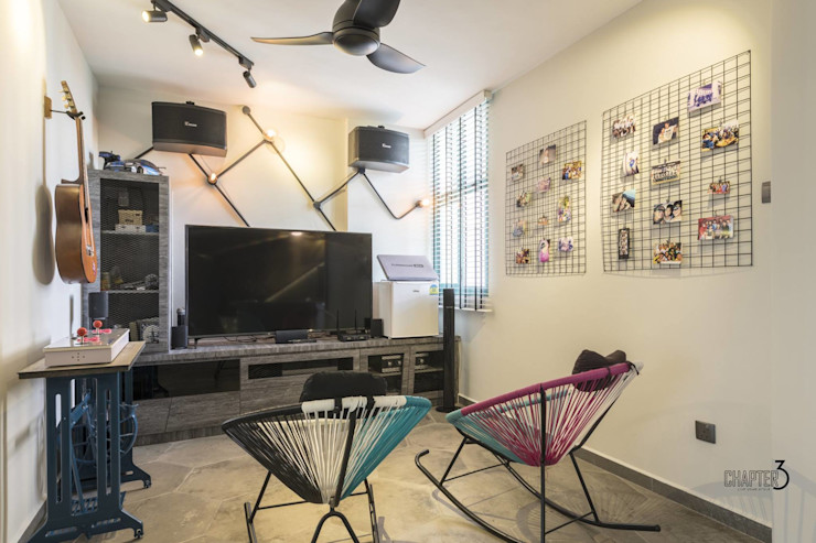 Chapter 3 Interior Design Industrial style media rooms
